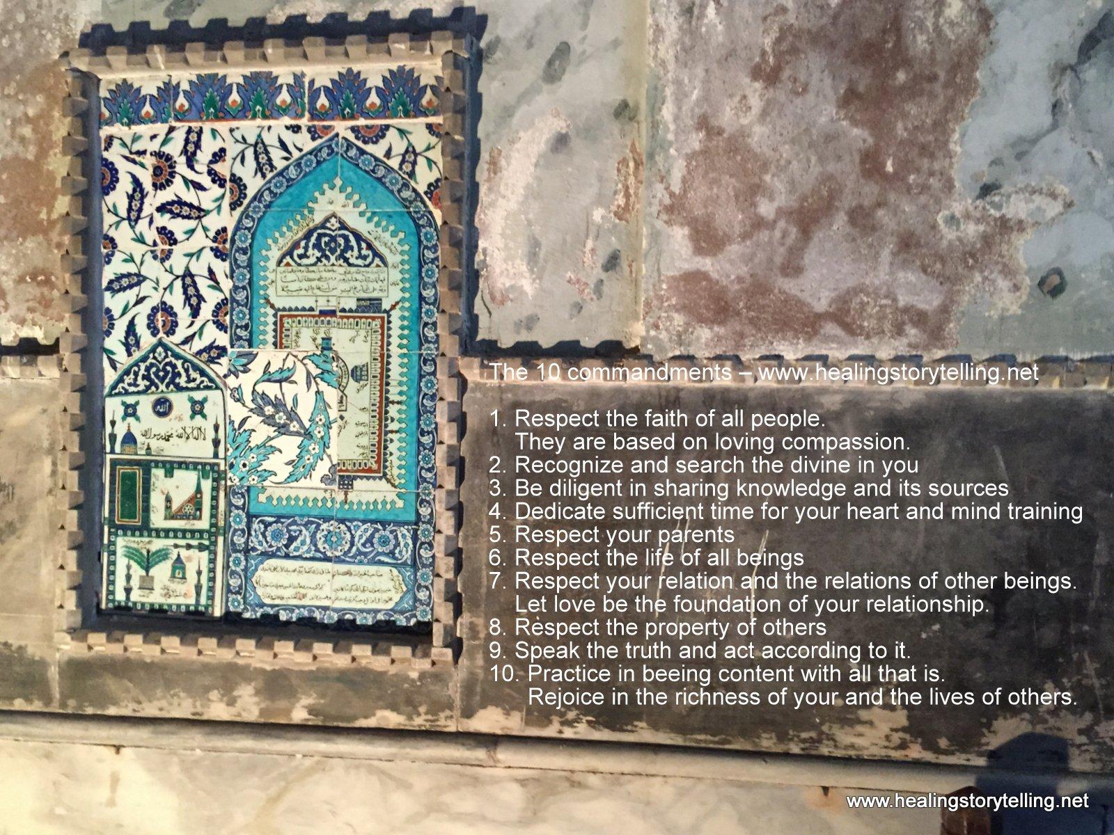 Remix of the 10 commandments