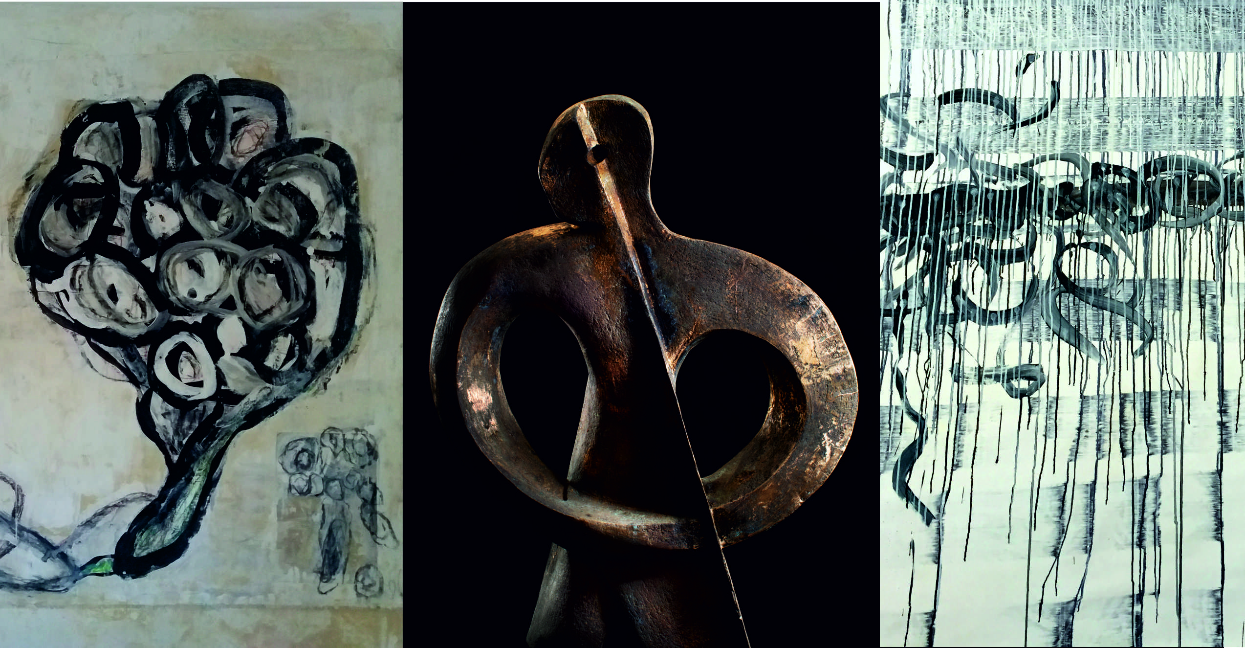 Gemalt Gegossen Gesprochen – Ausstellung Nonhoff & Schuster – #gemago