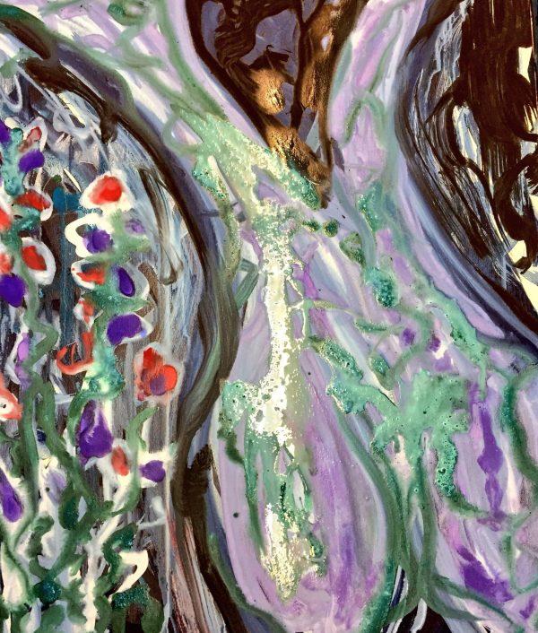 Blumenfrau - flower women